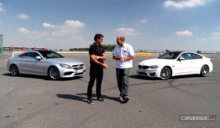 Les essais de Soheil Ayari : BMW M4 Compétition vs Mercedes AMG C63 Coupé | CircuitsLFG