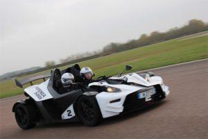 Cours privés de pilotage en KTM X-BOW