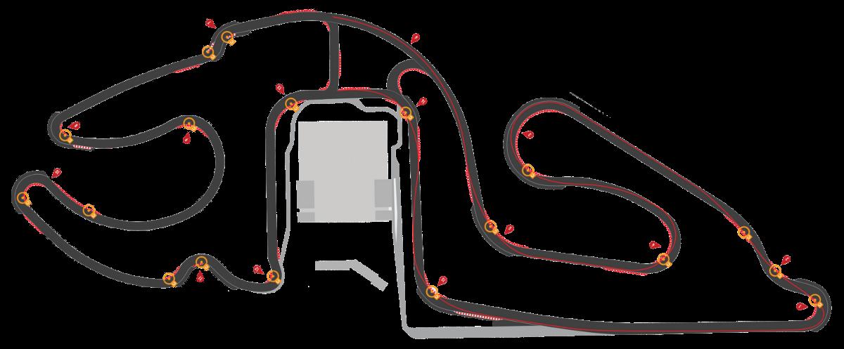 Piste 1.6 km | CircuitsLFG