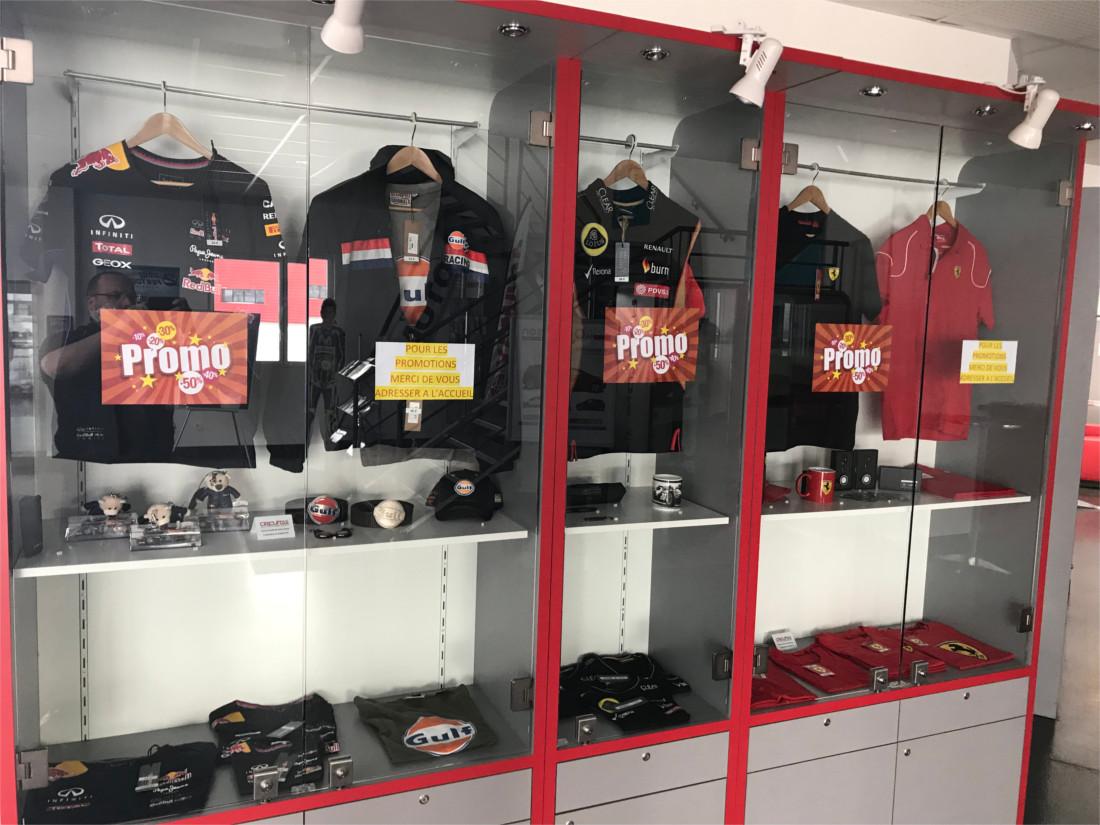 Boutique vêtements Oreca - CircuitsLFG