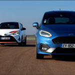 Caradisiac | Les essais de Soheil Ayari - Ford Fiesta ST VS Toyota Yaris GRMN