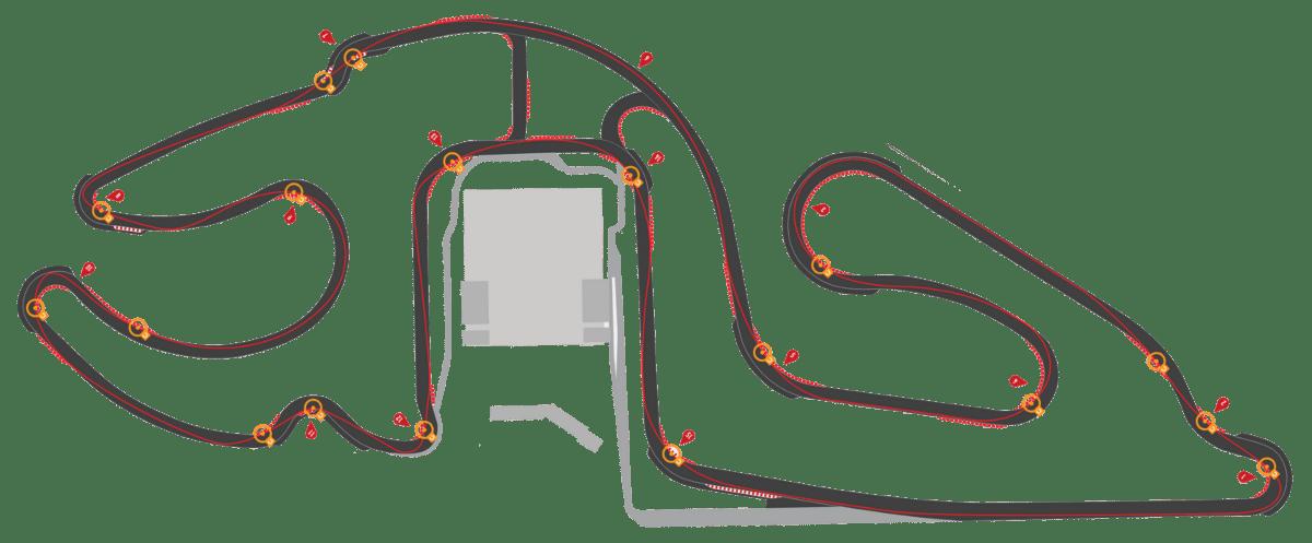 Piste 3.6 km | CircuitsLFG