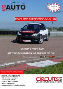 Initiation glisse avec système EASYDRIFT - Samedi 03 Août 2019