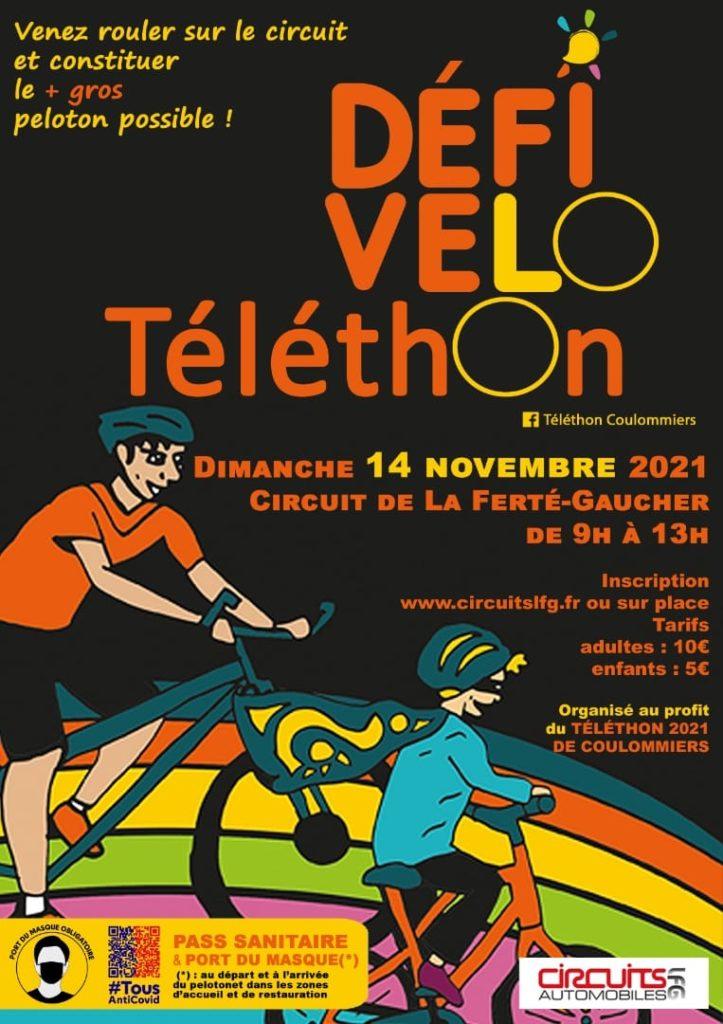 Défi vélo Téléthon 2021