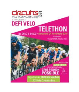 Défi vélo Téléthon - 24 novembre 2019