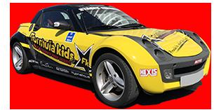 Smart Roadster Formula kids