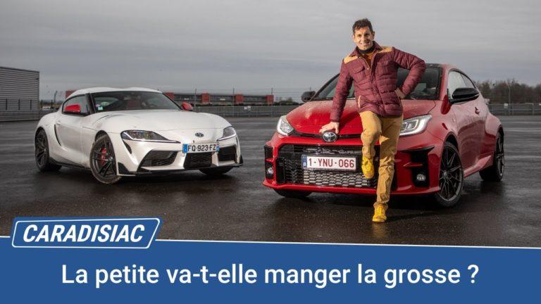 Les essais de Soheil Ayari avec Caradisiac |Toyota GR Yaris vs Supra 2.0