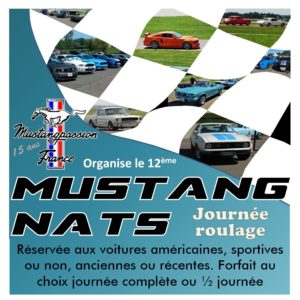 Roulage auto « MUSTANG NATS » 23/05/2021